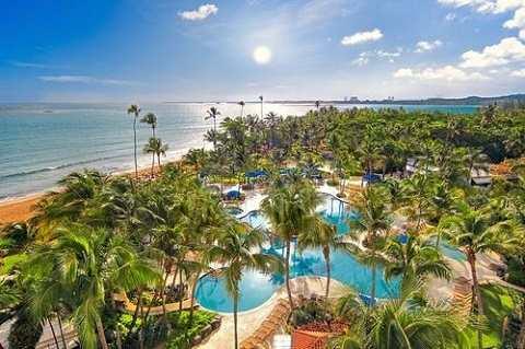 Отдых на Карибских островах, Пуэрто-Рико - типичный отель