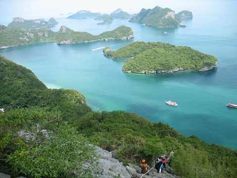 Отдых на островах Тайланда, Самуи - национальный парк Му-Ко-Анг-Тхонг