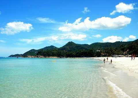 Отдых на островах Тайланда, Самуи, пляж Чавенг