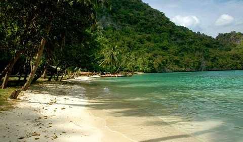 Отдых на островах Тайланда, Самуи, пляж Большого Будды