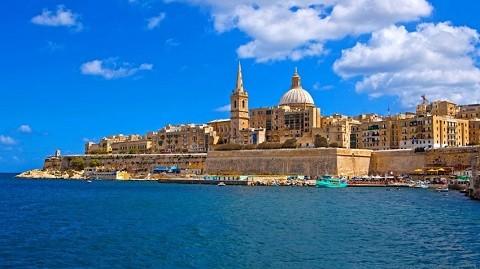 Отдых на Мальте - Вид на столицу Мальты — Валетту