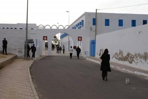 Отдых на Джербе, Тунис - синагога Эль-Гриба