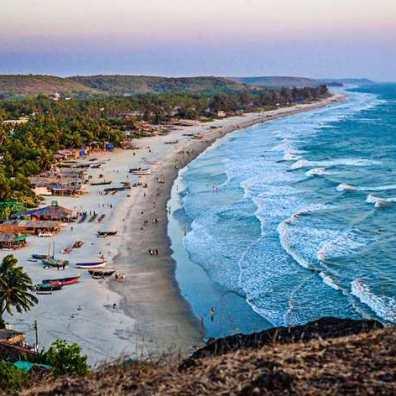 Отдых на Гоа, цены -живописные пляжи Северного Гоа