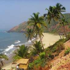 Отдых на Гоа, цены, Северный Гоа - пляж Арамболь
