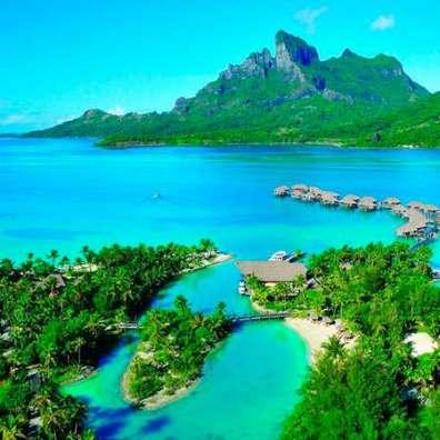 Острова Французской Полинезии - Таити - главный остров архипелага
