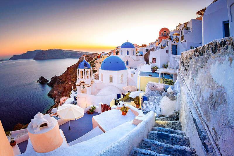 Отдых на острове Санторини-белоснежная сказка-город Ия
