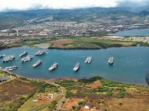 Отдых на Гавайских островах- военно-морская база Пёрл-Харбор