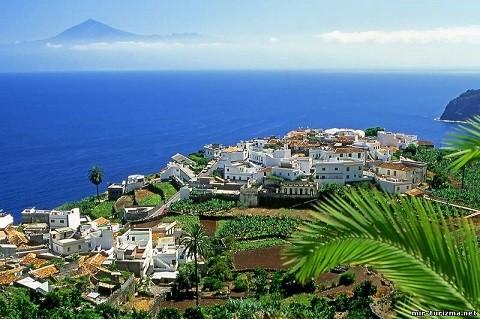 Отдых на островах Испании, канарские острова, райский уголок остров Гомера