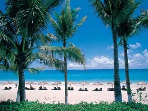 Отдых на острове Хайнань, курорт Дадунхай - очень ухоженные пляжи