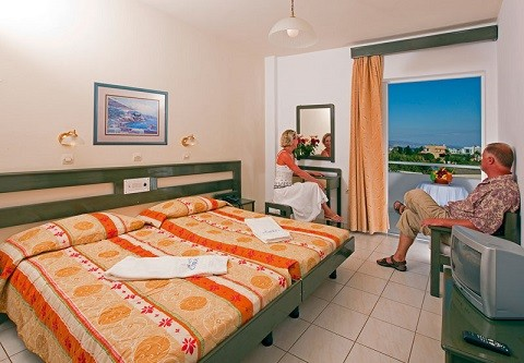 Отдых на острове Кос, Тигаки, уютные отели