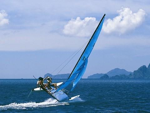 Отдых на острове Крит - активный вид отдыха, виндсерфинг