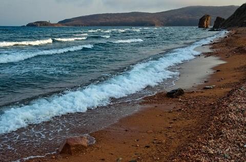Отдых на острове Русском - бухта Новый Джигит
