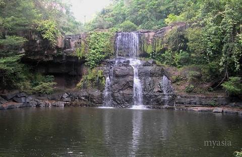 Отдых на островах Тайланда, остров Куд, прекрасные водопады