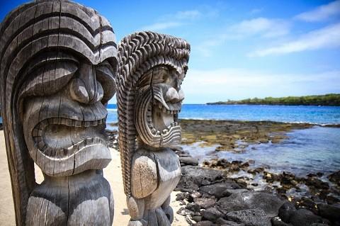 Отдых на Гавайских островах - Национальный исторический парк Puuhonua о Honaunau