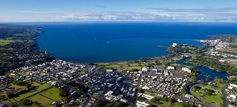 Отдых на Гавайских островах - город Хило