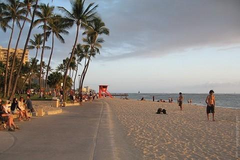 Отдых на Гавайских островах- песчаные пляжи Оаху