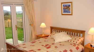 Ground floor double bedroom of Clearwaters Holiday Home