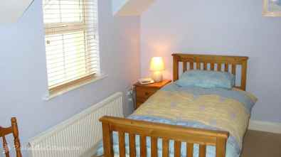 Upper floor bedroom of Clearwaters Holiday Home