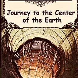 "Jules Verne, ""Journey to the Center of the Earth"", 1864."