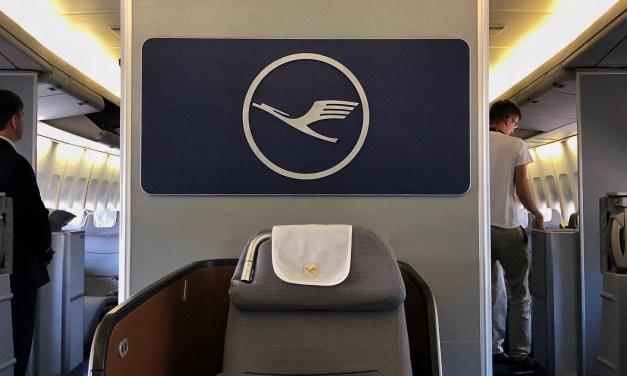 Lufthansa Business Class 747