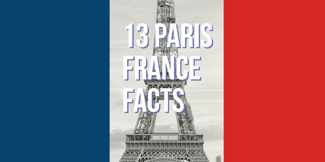 Paris France Facts