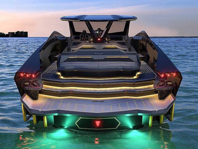 Conor McGregor bought a Lamborghini Yacht