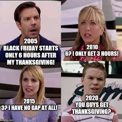 Hilarious Funny Thanksgiving Memes 2020 Clapback Pictures ...