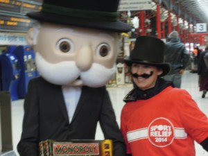 Even the Monopoly guy got involved!