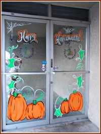 New Book About Window Painting and More on Halloween ...