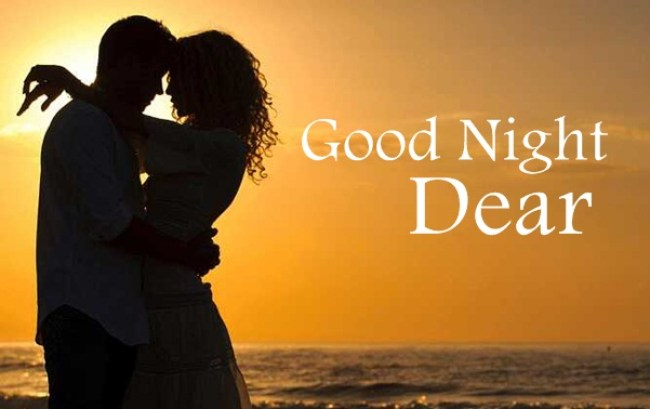 Wonderful Romantic Good Night Love Couple Pictures,Photos