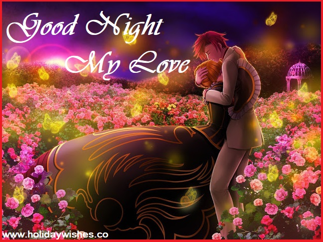Most Beautiful Good Night My Love Images Greeting Pictures