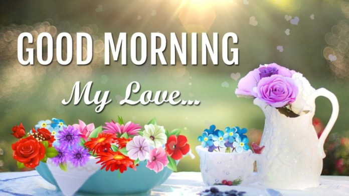 Awesome good morning my love wish pictures for love couples good morning love u have a lovely day sweetheart m4hsunfo