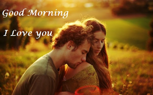 Romantic Good Morning Love Couple Pictures With Early Morning