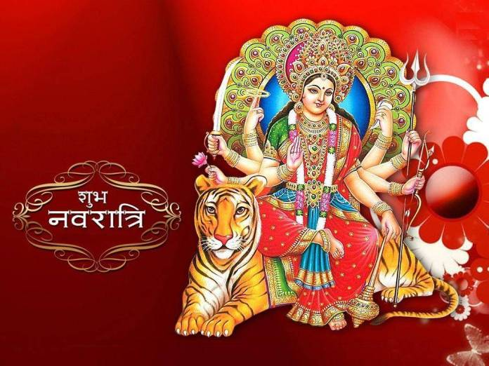 Fabulous happy navratri wish pictures gif images holiday wishes happy navratri glitter with beauiful image m4hsunfo
