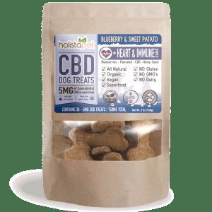 HolistaPet – CBD Dog Treats +Heart & Immune Care