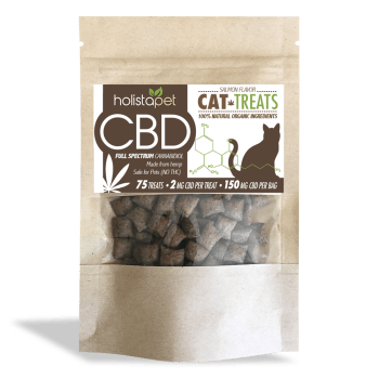 HolistaPet – CBD Cat Treats 150mg – 2mg Per Treat