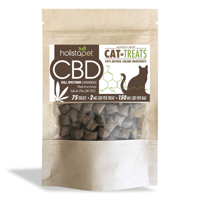 CBD Cat Treats Product Close Up