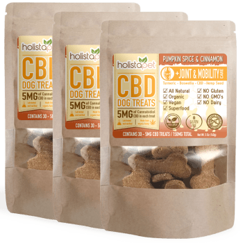 Bundle & Save: 3 CBD Dog Treats +Joint & Mobility Care