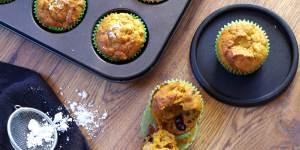 muffiny dyniowo- owocowe