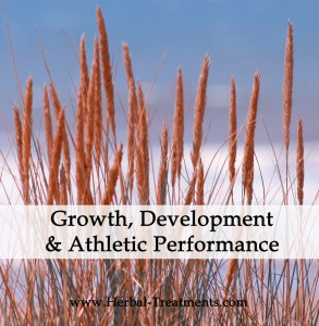 Herbal Treatments for Athletic Performance, Growth and Development Support