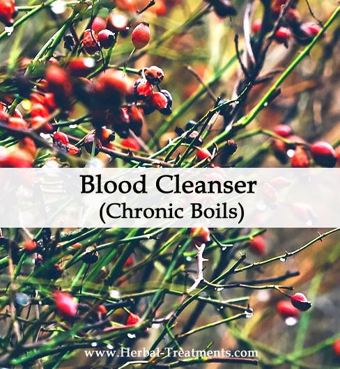 Herbal Medicine for Chronic Boils (Blood Cleansing)