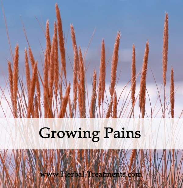 Herbal Medicine for Growing Pains in Children