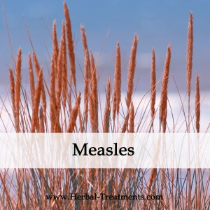 Herbal Medicine for Measles Recovery