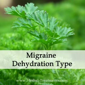 Herbal Medicine for Migraine Dehydration Type