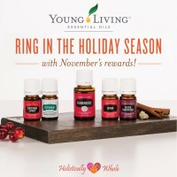 November Young Living Promos: Ring In The Holiday Season