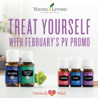 February Young Living Promos: Celebrate Self-Care