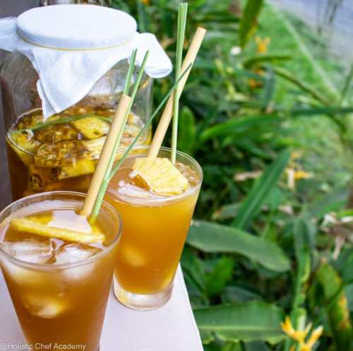 pineapple tepache ready to drink