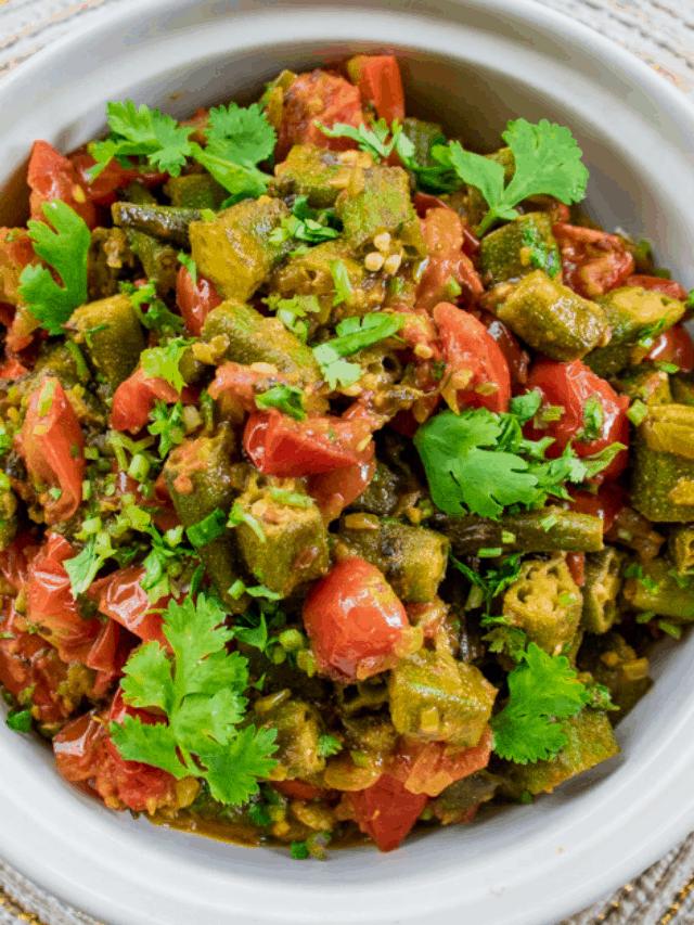 Bhindi Masala Recipe (Okra Masala)