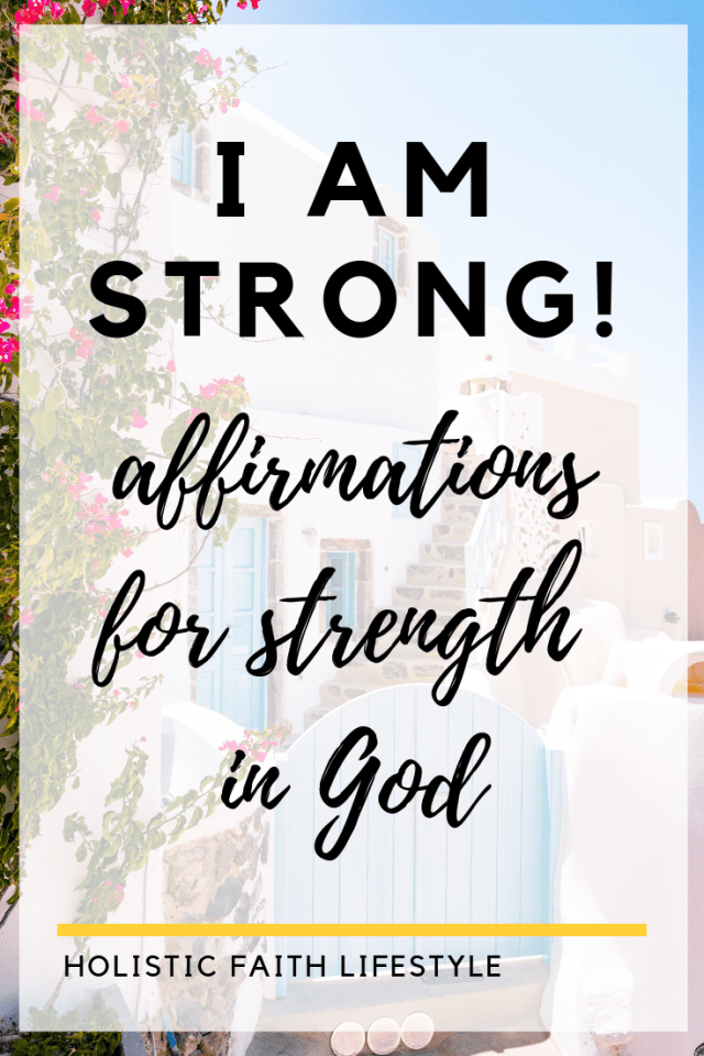 affirmations for strength