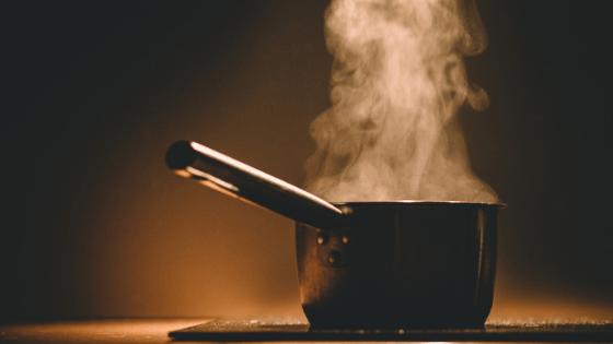 Preparing herbs for vaginal steam
